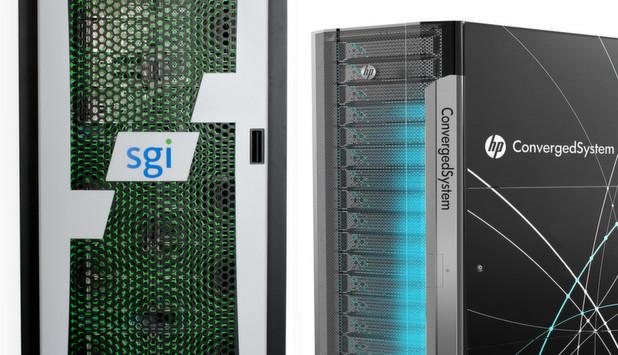 HP und SGI haben neue Systeme für SAP HANA vorgestellt.