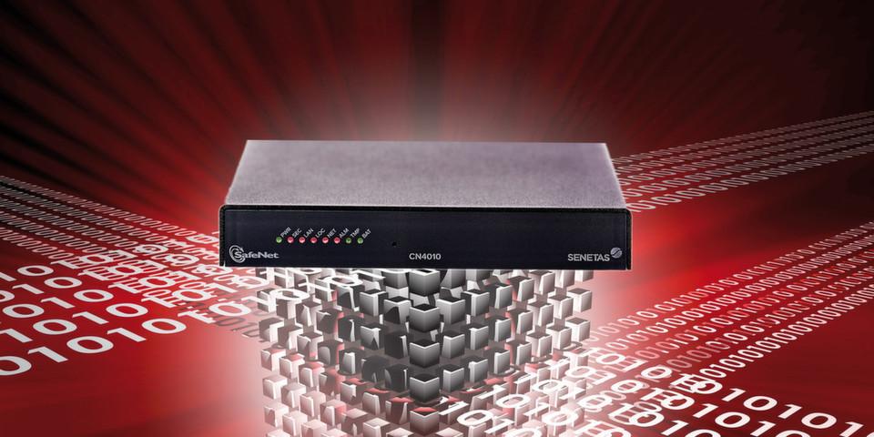 Die neuen SafeNet-Appliances zur Ethernet-Verschlüsselung bieten eine hohe Übertragungsrate von zehn Megabit bis zehn Gigabit pro Sekunde und sid deshalb ideal für zeitkritische und sichere Kommunikation geeignet.