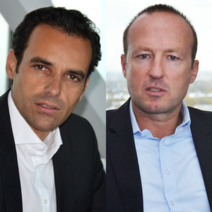 Alberto Sanz de Lama (li.) und André Stark