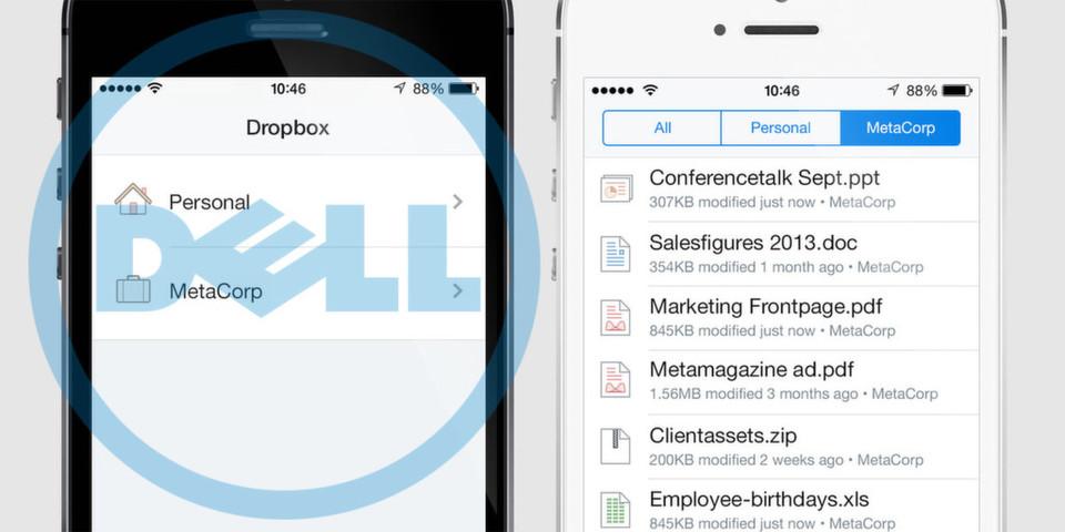 Mit Dell Data Protection - Cloud Edition will das Unternehmen Dropbox for Business sicherer machen und damit Firmen die geschäftliche Nutzung des bei Privatanwendern so beliebten Cloud-Speichers leichter machen.