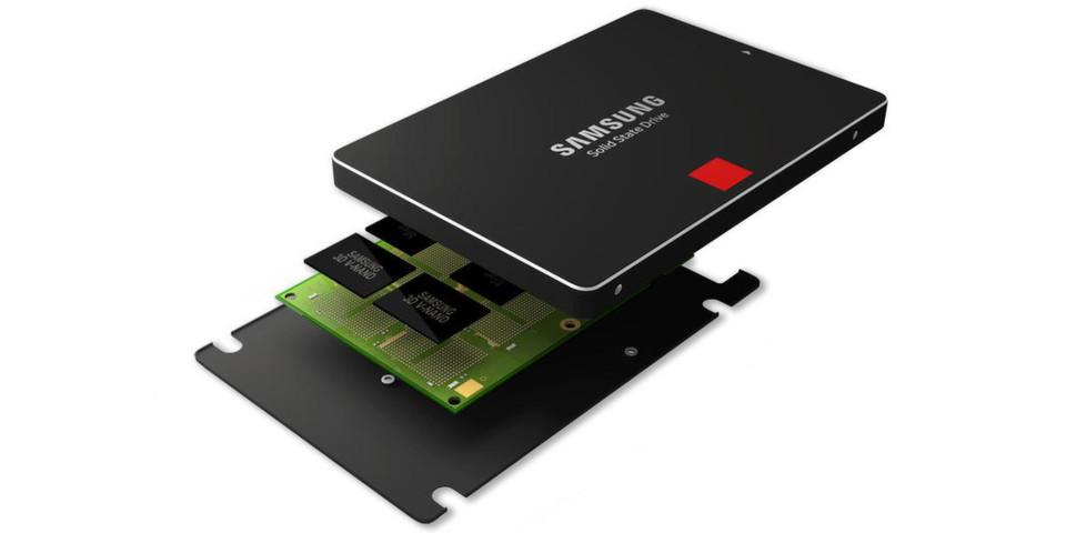 Die eigens von Samsung entwickelte 3D V-NAND-Speichertechnologie ermöglicht es, mehr Speicherzellen auf gleichem Raum zu verbauen, sodass die neuen SSDs eine deutlich höhere Leistung erzielen.