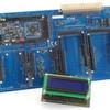 `aTAB´-Board mit fünf Arduinosteckplätzen und `IO-Card´ für UNO-Formfaktor
