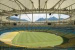 Das Maracana: Am 13. Juli werden hier wieder 75.000 Besucher das Finale der Fußball-Weltmeisterschaft feiern.