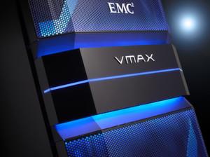 Storage für die Hybrid-Cloud: EMC Vmax.