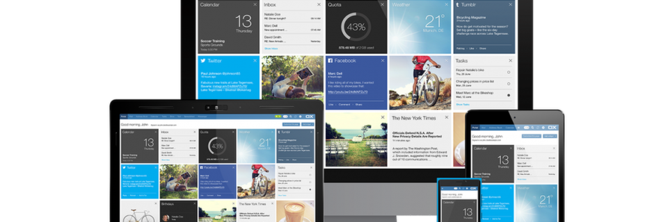 OX App Suite im Flat-Design