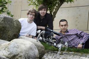 Hexapod überzeugt aus 20 spannenden Technik-Projekten