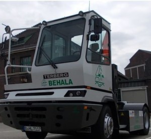 Der Elektro-Lkw Terberg YT202 EV soll helfen, neue Wege für einen umweltfreundlichen Transport zu erproben.