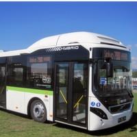Elektro-Hybridbusse rollen über Schwedens Strassen