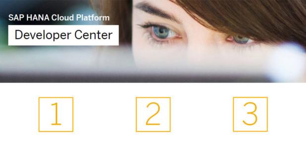 SAP wirbt mit kostenlosen Testversionen um Entwickler.
