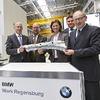 BMW eröffnet erweitertes Presswerk