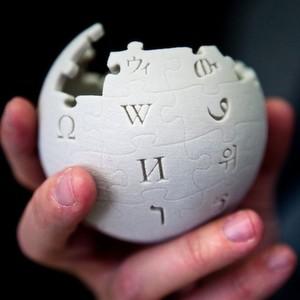 Der Wikipedia-Globus aus dem 3D-Drucker