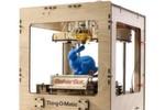 So sieht ein kleines 3D-Druckermodell aus, das mit Fused Deposition Modelling arbeitet. Die meisten 3D-Drucker funktionieren so - wie ein Tintenstrahldrucker, nur in drei Dimensionen.