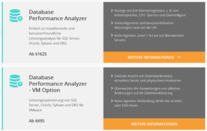 Solarwinds Database Performance Analyzer, vormals Confio Ignite, bietet Hilfe bei Problemen mit der Datenbankleistung unter VMware und ist an den Lizenzierungsbedarf angepasst.