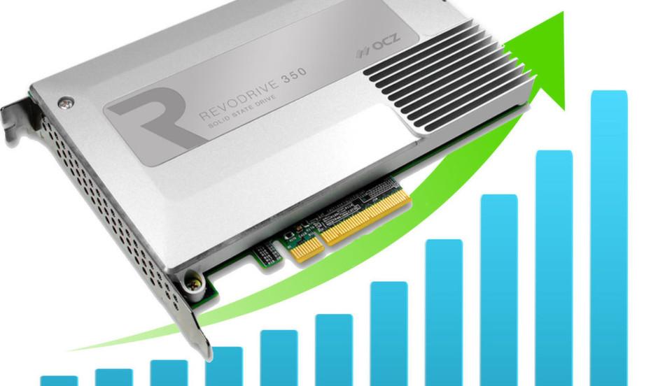 Mit PCIe Flash-basierten SSDs und der VXL Software von OCZ sollen Rechenzentren schlanker, sparsamer und umweltfreundlicher werden.
