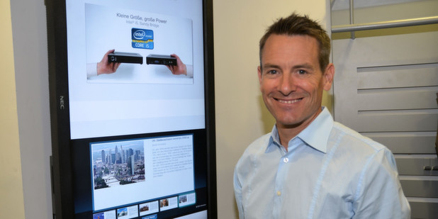 Digital Signage treibt das Geschäft von Concept International