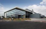 Der Eingangsbereich des Microsoft Mega-Rechenzentrums in der Nähe von Dublin.
