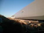 Aus der Perspektive betrachtet bekommt man einen Überblick der Gesamtgröße der zweiten Ausbaustufe (Start Herbst 2013) des Rechenzentrumskomplexes.