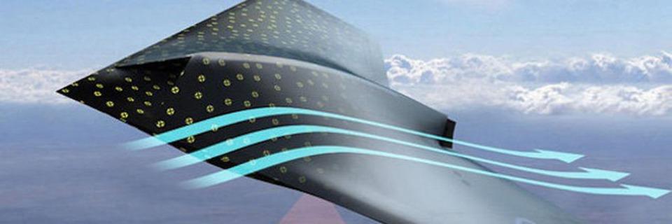 Mit intelligenter Haut erkennen Flugzeuge die Umgebung