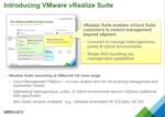 Abbildung 2: vRealize ist ein von VMware neu eingeführter Produktname. Dahinter verbergen sich Management-Funktionen, die es erlauben sollen, eine komplette Rechenzentrumsumgebung zu verwalten. Der Zusatz 'Air' betrifft alle Cloud-Angebote.
