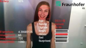 Der SHORE-Algorithmus liefert in Echtzeit Daten zu Alter, Geschlecht und Stimmungslage - ohne dass die Daten die Brille verlassen.