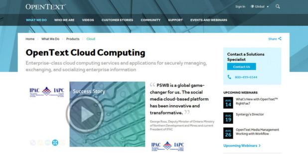 Cloud-Fax-Service im europäischen Datenraum