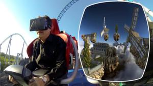 Virtuelle Realität steigert Adrenalinspiegel in der Achterbahn