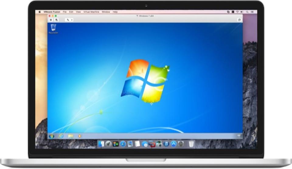 Fusion 7 Pro macht sich den schnelleren Arbeitsspeicher, die höhere SSD-Performance und die bessere Leistung des Mac zunutze, um Windows-Anwendungen mit nahezu nativer Performance auszuführen, so VMware