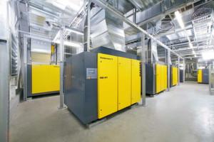 Beim Contracting bleibt die Druckluftstation Eigentum des Systemanbieters. Der Kunde bezahlt nur für die tatsächlich abgenommene Druckluftmenge.
