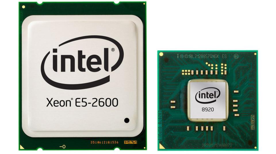 """Auch den Xeon-Chip """"E5 2600"""" von Intel gibt es jetzt in der 3. Ausführung."""