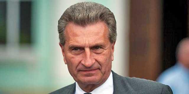 Günther Oettinger ist neuer EU-Kommissar für Digitale Wirtschaft