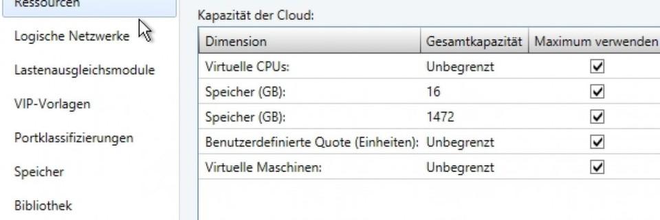 Clouds mit SCVMM 2012 R2