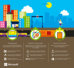 Big Data und das Internet der Dinge: So nutzt beispielsweise die Verkehrsgesellschaft 'London Underground' Microsoft Azure Intelligent Systems Service (ISS) für Systemwarnungen.