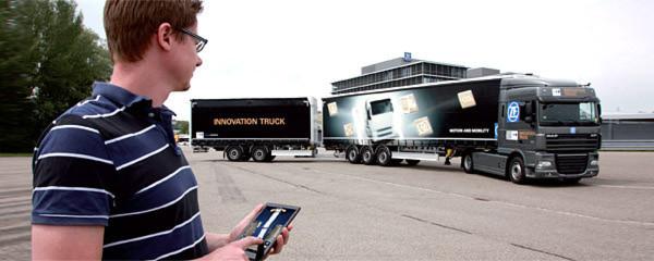 Auf der IAA Nutzfahrzeuge 2014 zeigen auch viele Zulieferer ihre Entwicklungen. Ob fern-rangierbarer Lastkraftwagen, innermotorische Konzepte oder Fahrerassistenz – die Bandbreite der Innovationen ist groß.