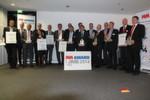 Glückliche Gesichter: Die Gewinner des MM-Awards zur AMB 2014 hatten sich den Preis für ihre Innovationen redlich verdient.