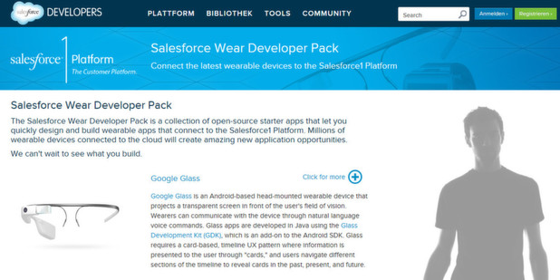 Developer Pack für Wearable-Apps