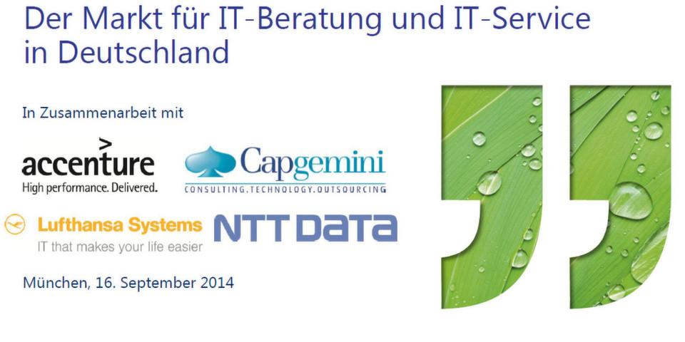 Lünendonk-Marktstudie 2014: Unternehmen sparen im IT-Betrieb und investieren stärker in Innovationsprojekte