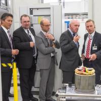 Siemens eröffnet neue Fertigungslinie in Bad Neustadt