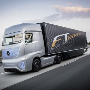 Future Truck 2025 fährt autonom in eine faszinierende Zukunft