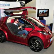 Viele der auf der Automechanika gezeigten E-Mobile machten einen ausgereiften Eindruck.