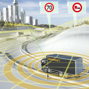 Assistenzsysteme machen Nutzfahrzeuge sicherer, komfortabler und effizienter
