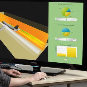 Mit der richtigen Software Flugzeuge umweltschonend bauen.