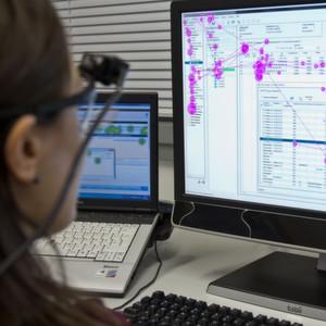 Bild 1: Mithilfe des Eyetracking-Verfahrens lassen sich die Blickbewegungen messen, um sich direkt in den Nutzer hineinzuversetzen können.