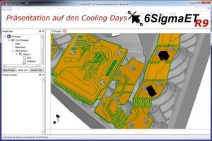 Tobias Best, Geschäftsführer ALPHA-Numerics, präsentiert 6SigmaET Release 9 auf den Cooling Days 2014