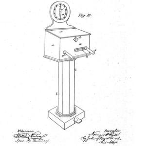 1886: Ein Münzautomat für Stromschläge