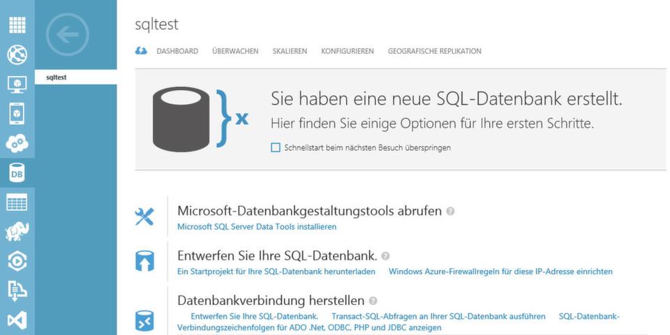 Mit Azure SQL DB stellt Microsoft eine relationale, als Dienst bereitgestellte Datenbank für Cloud-Umgebungen zur Verfügung.