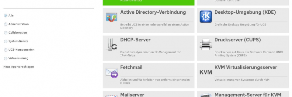 Univention Corporate Server 4.0