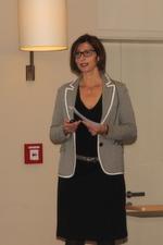… Daniela Schilling, Leiterin Vogel IT-Akademie, begrüßte die Gäste zum ENTERPRISE MOBILITY Summit 2014.
