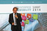 Im Anschluss stellte Werner Nieberle, Geschäftsführer der Vogel IT-Medien GmbH, die Ergebnisse der ENTERPRISE MOBILITY STUDY 2014 vor.