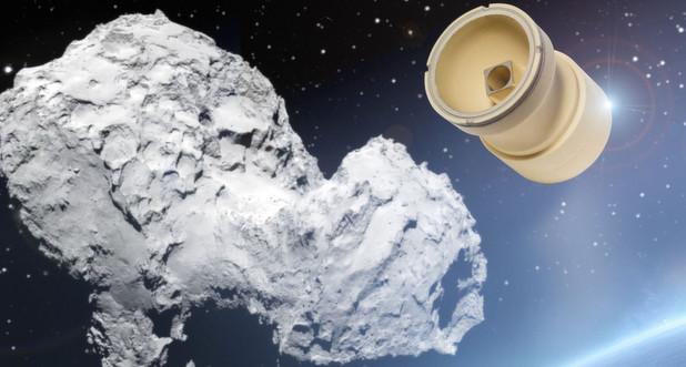 Technische Keramik an Bord der Raumsonde Rosetta