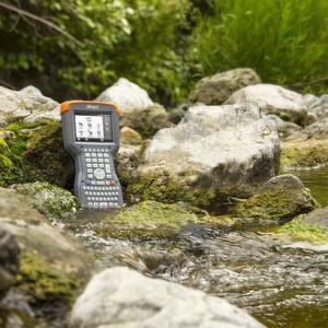 Der Allegro 2 wurde speziell für Outdoor-Anwendungen, bei denen große Datenmengen von Hand erfasst werden müssen, entwickelt.
